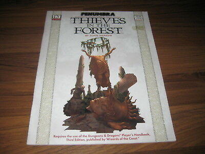 d20 Penumbra Thieves In The Forest Abenteuer 2000 Atlas Games AG3201 EX