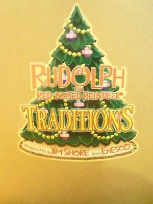 Rudolph The Red Nosed Reindeer Traditions Designed By Jim Shore From Enesco New