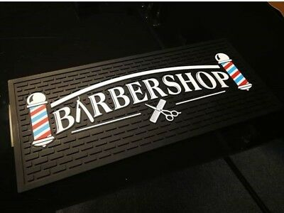 Barbers Tool Mat Barber Shop Station Mat Keep Equipment Tools From Slipping