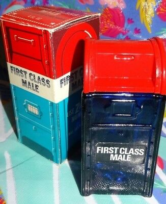AVON FIRST CLASS MALE Wild Country After Shave 4 Fl Oz Decanter & Box Only Mail