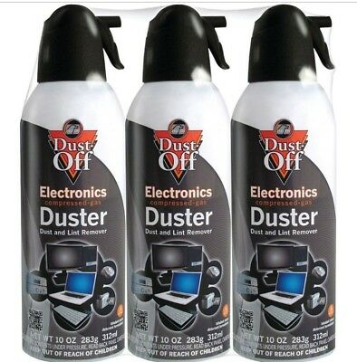 Falcon Dust-Off 10oz Professional Safety Compressed Air Duster 4-PACK BRAND NEW!