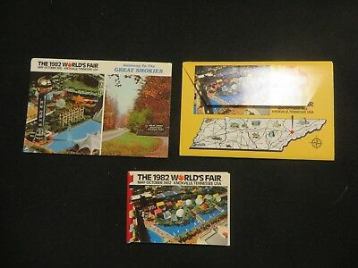 1982 World's Fair Postcards Knoxville, Tennessee   Unused