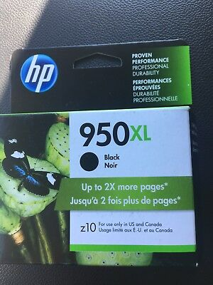 New HP 950xl black ink cartridge Genuine