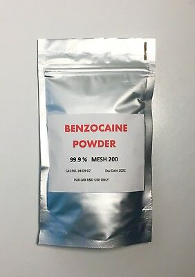 BENZOCAINE POWDER 112g Fast & Free Delivery Royal Mail 1st Calss
