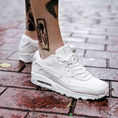 best website 3b1e4 112d7 NIKE AIR MAX 90 Premium Summit White snake pack Sizes 7-11 700155-101