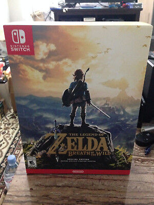 Legend of Zelda: Breath of the Wild Special Edition for Nintendo Switch, New