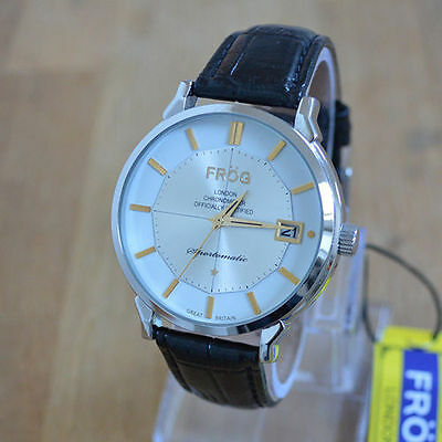 Mens Vintage Watch Leather Strap - New old stock M02W