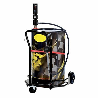Wheeled Oil Set – for 55 GAL Drums – 3:1 - Digital Meter