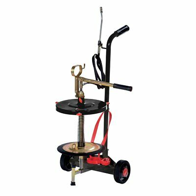 Wolflube Wheeled manual grease pump for 35 lbs/ 5 gallon pail