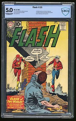 Flash #123 CBCS VG/FN 5.0 Off White to White DC Comics