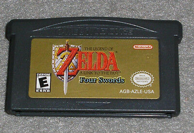 Legend of Zelda A Link to the Past Nintendo Game Boy Advance GBA **AUTHENTIC**