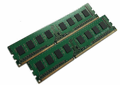 8gb 2x4GB PC3-10600u DDR3-1333MHz Desktop PC RAM 2Rx8 Low Density Non-ECC Memory