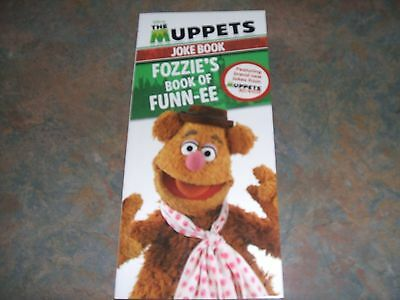 New-Disney The Muppets Joke Book. Fozzie's Book of Funn-ee. Great book of fun.