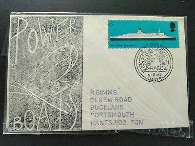 G.B. cover, Power boat race, Portsmouth 6.8.1969