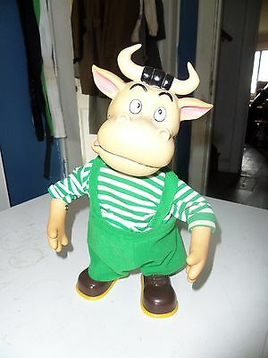 Vintage Toy Cow Bull Musical Spanish Music