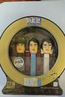 Elvis Presley Pez Collectible Gift Pack Item #914 With CD Tin  NIB free ship