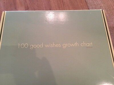 Red Envelope 100 good wishes Hanging Canvas Personal/Inspiring Growth Chart