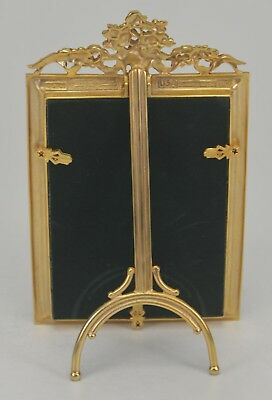 "Elias Artmetal Gold Plated ""Second"" 4"" x 6"" Vienna Star Picture Frame - 1756G"