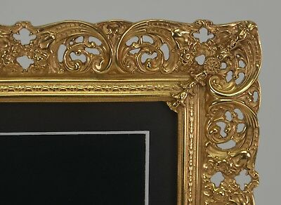"Elias Artmetal Gold Plated ""Second"" 8"" x 10"" Filigree Picture Frame - 3442G"