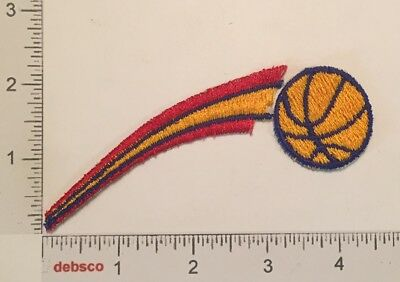 Vintage BASKETBALL Swoosh Sports Embroidered Iron On PATCH