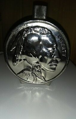 Vintage Avon Buffalo Nickel Wild Country After Shave Bottle. Rare, hard to find.