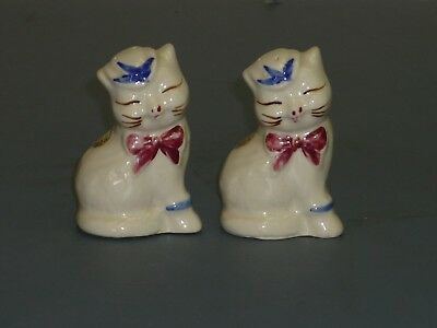 Vintage Shawnee Puss N Boots Kitty Cat Salt and Pepper Shakers
