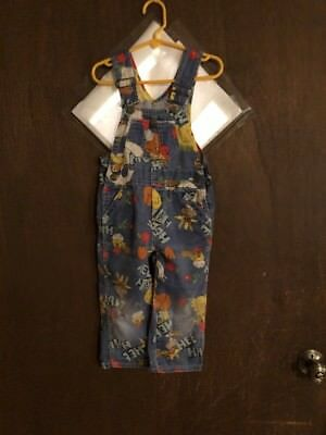 Vintage 1960's Liberty Hee Haw Bib Overalls Childs Size 4