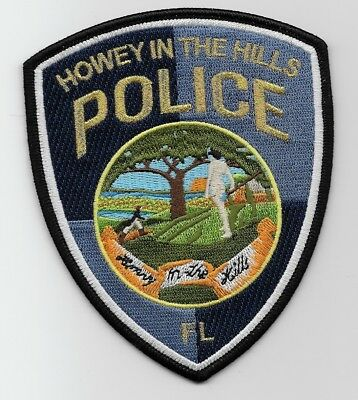 Howy in the Hills Police State of Florida FL Shoulder Patch NEW
