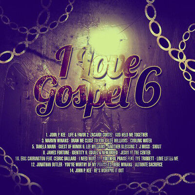 I Love Gospel Vol.6 Gospel Mix Edition Mixtape CD