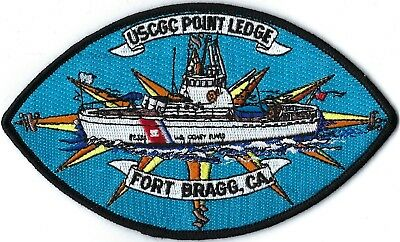 Us Coast Guard Cutter Point Ledge Fort Bragg, Ca Patch