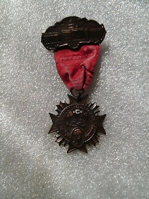 1931 Montgomery Alabama Ucv Confederate Sons Civil War Veteran Delegate Medal