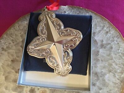 2006 TOWLE Old Master Star Sterling Silver 10th Edition Christmas Ornament - NIB
