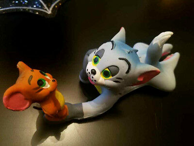 Vintage MGM LANCO SPAIN TOM & JERRY mouse rubber Squeak toy 1971 collector Mint