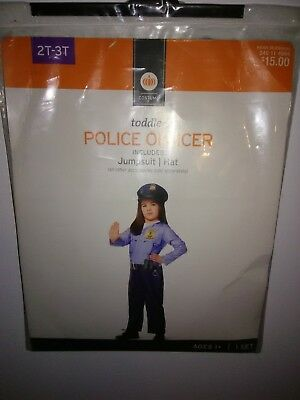 Kids Police Costume 2T/3T NWT Brand NEW