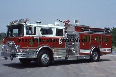 Fire Apparatus Slide - York Springs PA - 1976/93 Mack Lady & Taylor Engine 9-2
