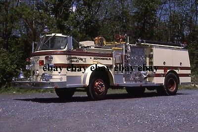 Fire Apparatus Slide - Shippensburg PA - American LaFrance Engine 53
