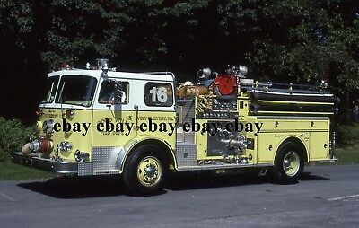Fire Apparatus Slide - West Fairview PA - 1978 Seagrave Engine 1-16