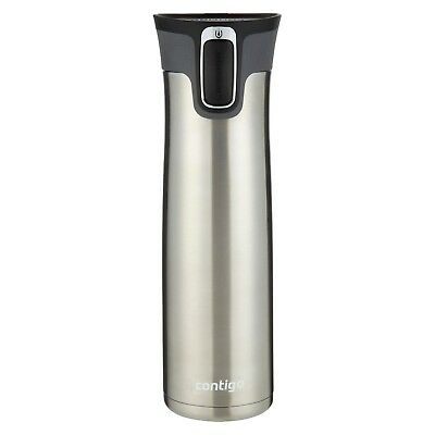 Contigo 24 oz. West Loop Vacuum Insulated Stainless Steel Travel Mug - Silver