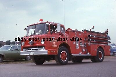 Fire Apparatus Slide - Edgemont PA - Ford Ward LaFrance Engine 31