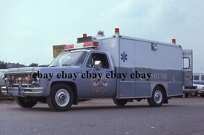 Fire Apparatus Slide - Middletown PA - Chevrolet Swab Ambulance