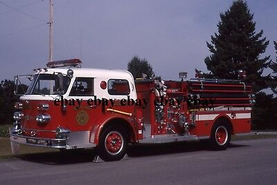 Fire Apparatus Slide - North York PA - American LaFrance Engine 25-1