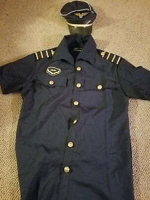 Pilot Couples Halloween costume size large - men and women