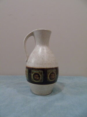 German Pottery Vase With Handle Marked 307  20  Germany On Base Vintage