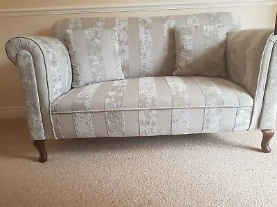 Two Seater Drop Arm Sofa Chaise