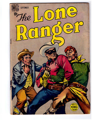 The LONE RANGER #15 in FN+ condition 1949 DELL Golden Age comic