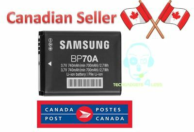 NEW Original Samsung Camera Battery BP70A EA-BP70A, EABP70A, BP-70A, BP70, IA-BP