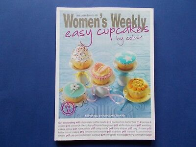 *like New*  Women's Weekly - Easy Cupcakes By Colour Cookbook - Children's Party