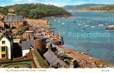 72743798 Conway United  Kingdom The Estuary from the Castle Brighton
