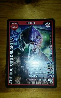 Doctor Who Monster Invasion Extreme Common Card #250 Hath
