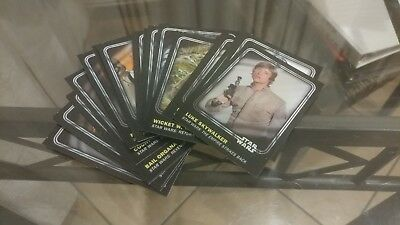 Star Wars Topps 22 Misc. Character Card Lot